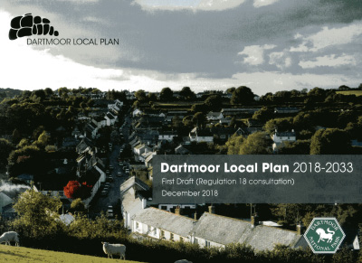 Dartmoor Local Plan 2018-2033