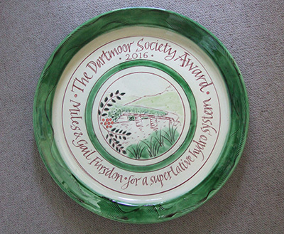 Dartmoor Society Award 2016