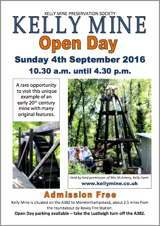 Kelly Mine Open Day