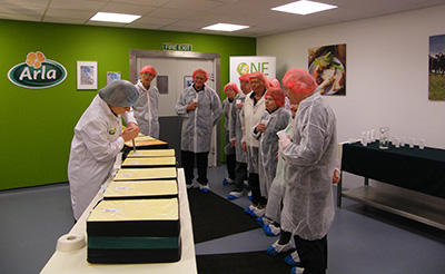 Taw Valley Creamery visit